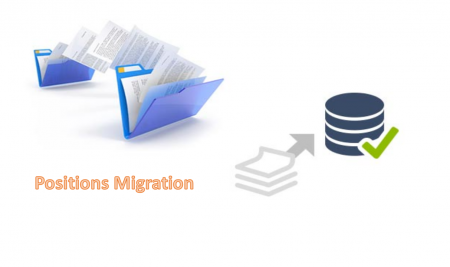 HRMS Positions Migration in Oracle Applications